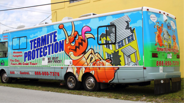 bus vehicle wrap
